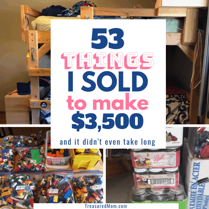 53 Things to Sell to Make Money - I Made $3500